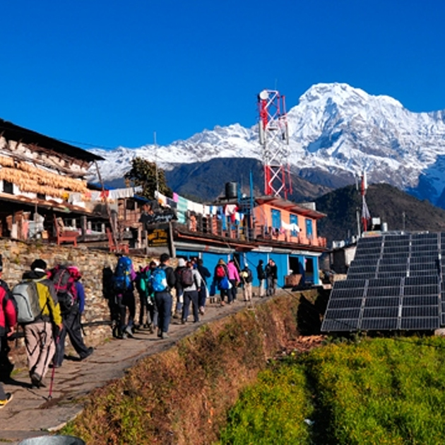 Ghorepani Poon Hill to Upper Mustang Trek