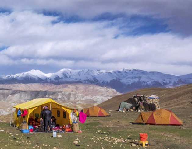 Upper Mustang Camping Trek