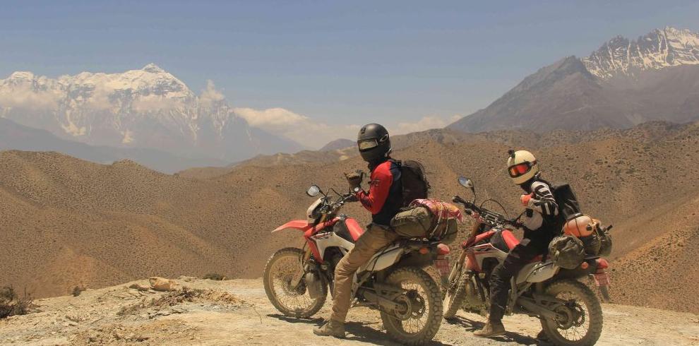 Upper Mustang Motorbike Tour